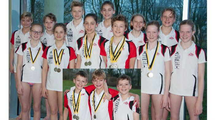 ISWIM veroverde 13 medailles op Vlaamse Jeugdkampioenschappen!